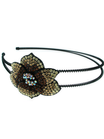 "The Topaz ""Fiona"" Flower Headband"