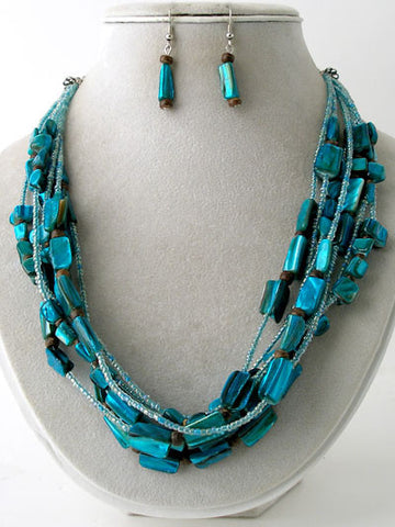 "The ""Sophie"" Multi Strand Necklace Set"