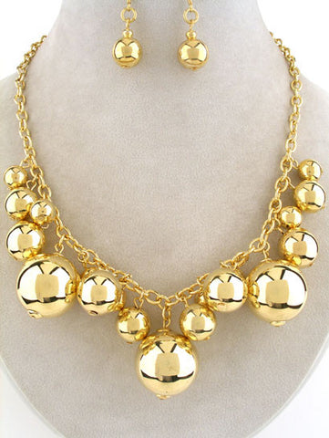 "The ""Liya"" Statement Necklace Set"