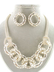 "The ""Gaelle"" Necklace Set"