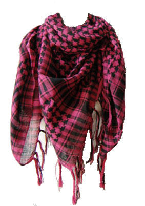 Plaid Patterned Scarf