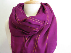 "The Hot Pink ""Chelsea"" Scarf"
