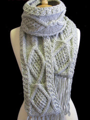 "The Gray ""Joelle"" Winter Hat  & Scarf Set"