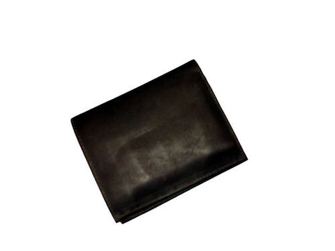 Men's Deep Chocolate Brown Leather Wallet