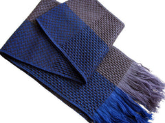 "The Men's Textured ""Easton"" Fringed Scarf"