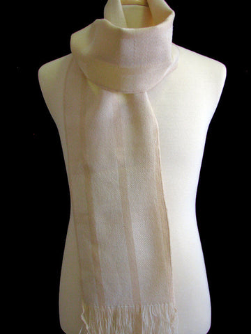 "The Men's Cream ""Graham"" Winter Scarf"