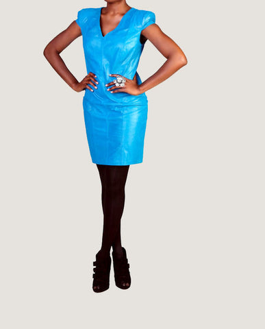 "The ""Mercer"" Leather Dress"