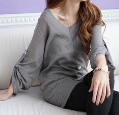 Comfy Chic Gray Sweater