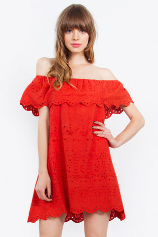 Allegra Off The Shoulder Dress