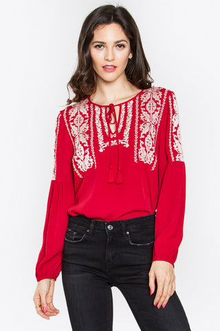 Dakota Peasant Top