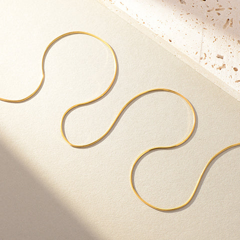 Open Circle Ring (Rose Gold)