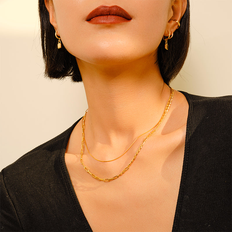 Imperfection Open Circle Ring (Rose Gold)