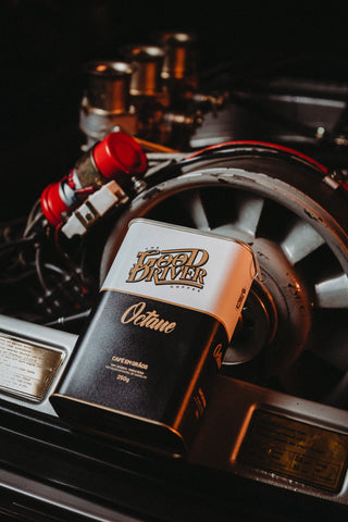 The Good Driver Coffee - Modelo Octane em Lata - Franck's Ultra Coffee - Desde 2016