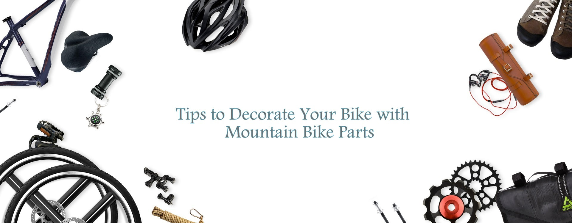 Tips to decorate your bike with mountain bike parts in Singapore