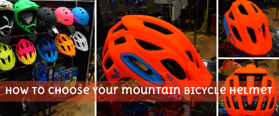 How to choose your mountain bicycle helmet