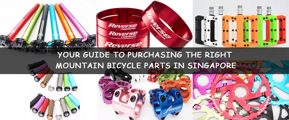 Your Guide to Purchasing the Right Mountain Bicycle Parts in Singapore.