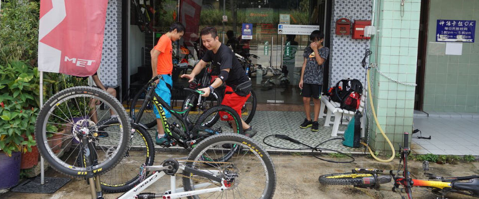 Maintain your Mountain Bike in Singapore (and Elsewhere) Perfectly
