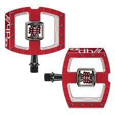 CRANKBROTHERS MALLET DH RACE PEDAL RED - Bike technics
