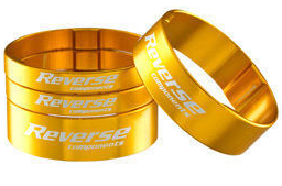 REVERSE SPACER SET ULTRA LIGHT GOLD - Bike technics