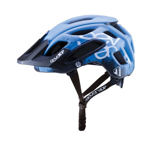 7IDP M2 HELMET GRADIENT BLUE/BLACK/WHITE XS/S