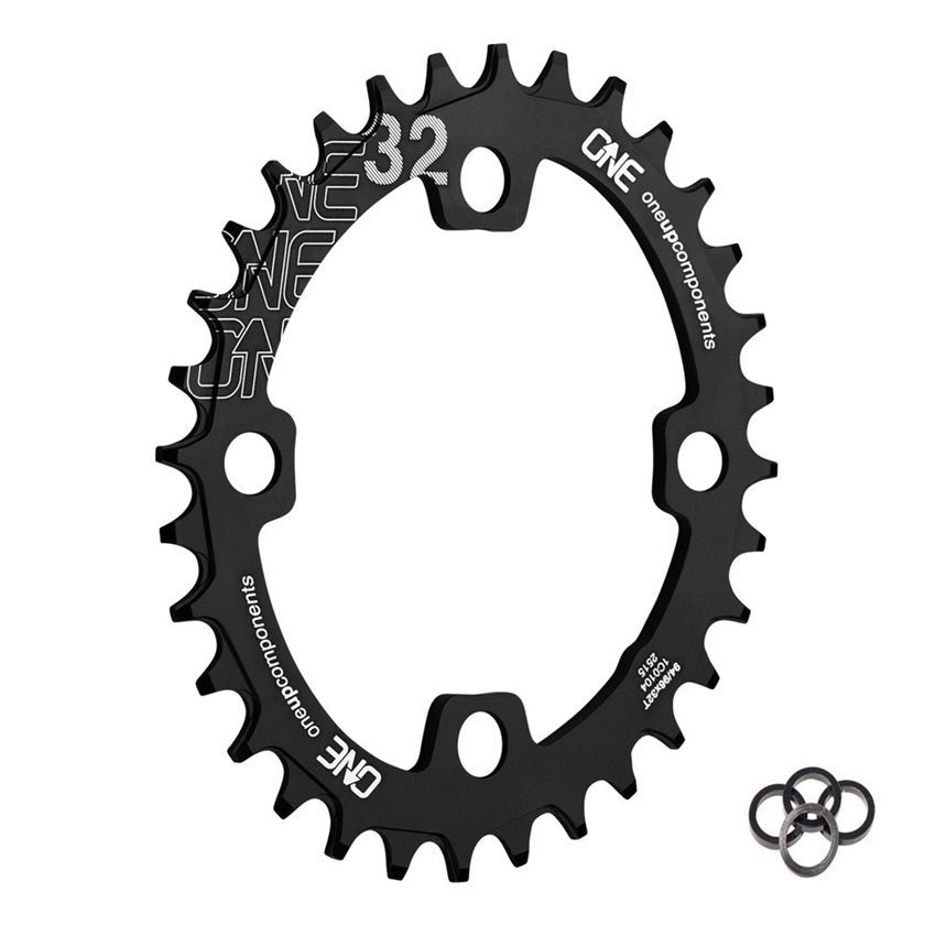 OneUp Components Chain Ring 94/96BCD 30T BLACK