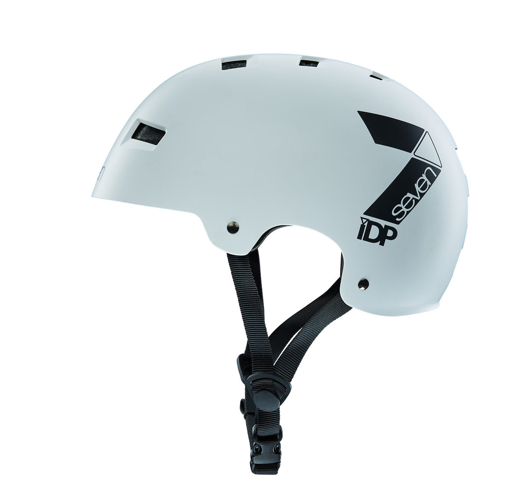 7IDP M3 DIRT LID MATT WHITE/ BLACK S/M - Bike technics