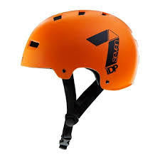 7IDP M3 DIRT LID ORANGE/BLACK S/M - Bike technics