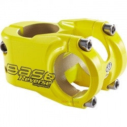 REVERSE STEM BASE 31.8 40MM YELLOW - Bike technics