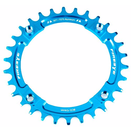 FIREEYE FE N-W CHAIN RING 30T BLUE - Bike technics