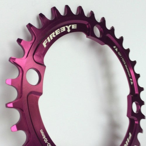 FIREEYE FE N-W CHAIN RING 32T PURPLE - Bike technics