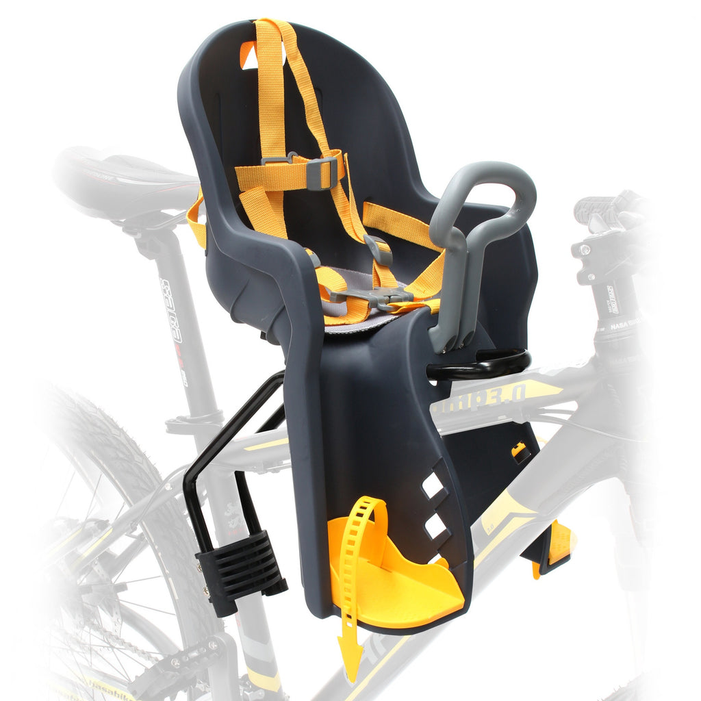 BABY SEAT FRONT PVC SF-908E W/BRACKET - Bike technics