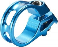 REVERSE TRIGGER CLAMP FOR SRAM LIGHT BLUE - Bike technics