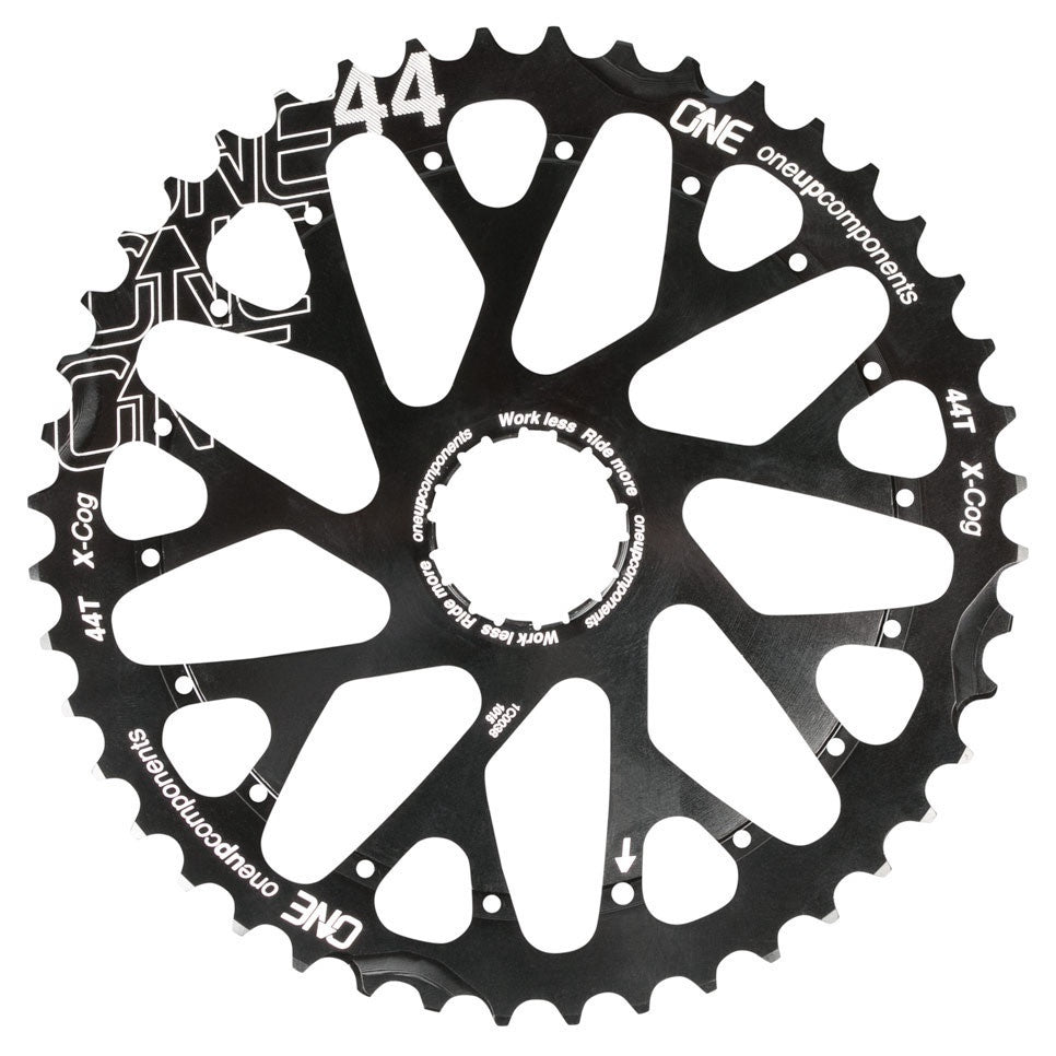 OneUp Components X-Cog 44T BLACK