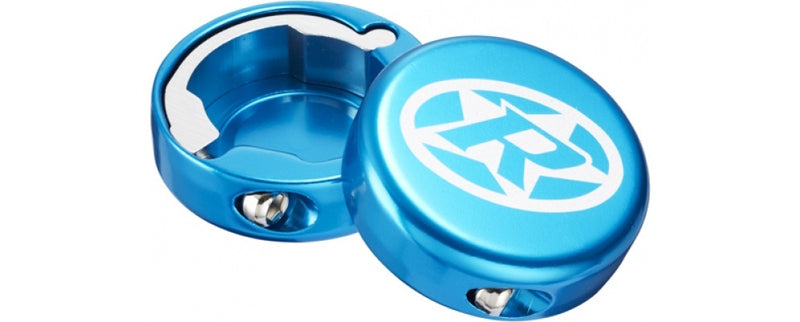 Reverse Grip End-Cap Lock-On LIGHT BLUE
