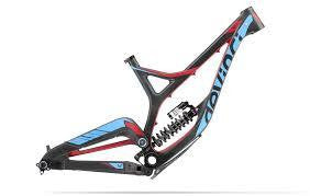 DEVINCI FRAMESET WILSON CARBON S BLACK/BLUE/RED - Bike technics