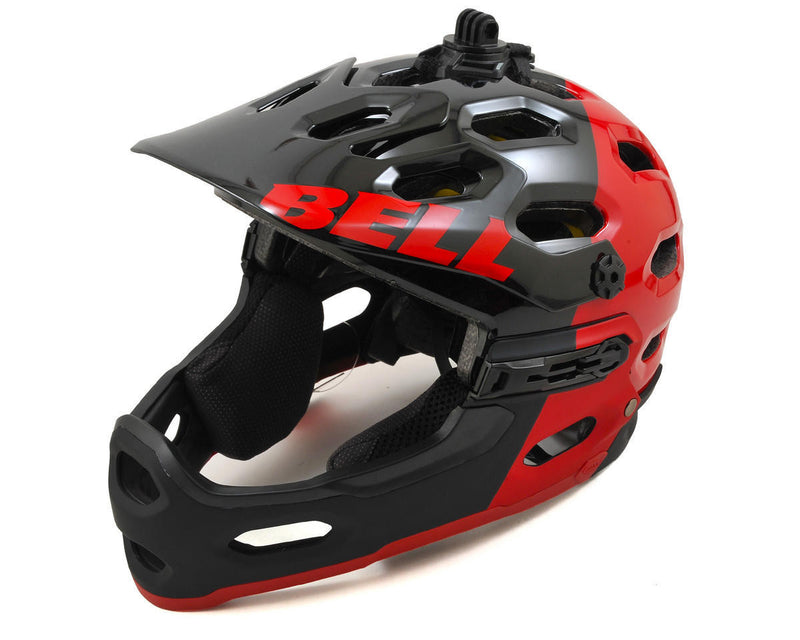 BELL SUPER 2R MIPS RED/BLACK SIZE M - Bike technics