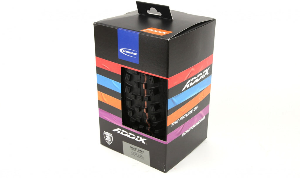 "Schwalbe Tire Magic Mary 27.5"" x 2.35"" Addix Soft Evo SSkin"
