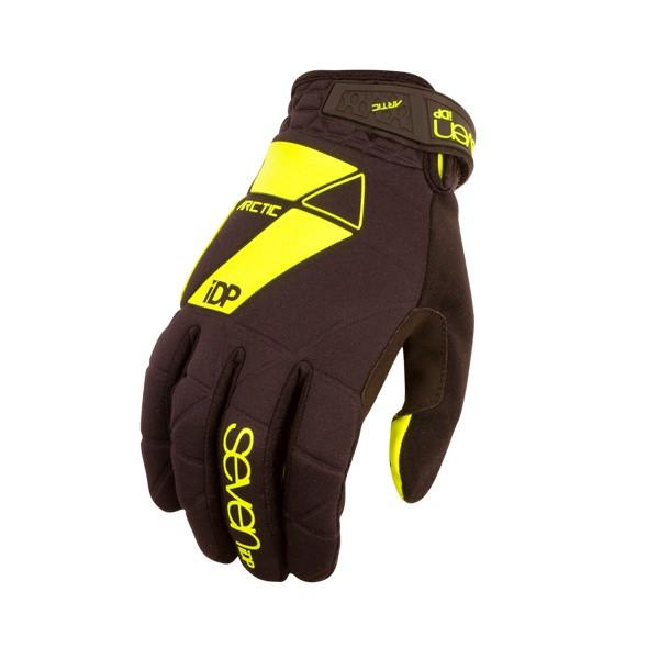 7IDP ARCTIC GLOVE BLACK/YELLOW S - Bike technics