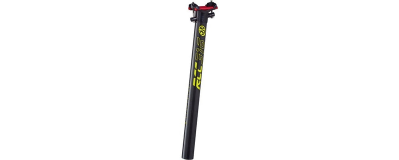 Reverse Seat Post RCC Carbon 316 31.6mm 400mm BLACK/YELLOW