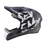 7IDP M1 HELMET GRADIENT MATT BLACK/WHITE S ( 55-56CM )