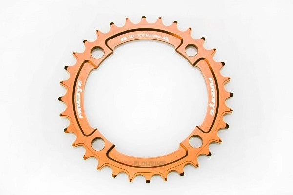 FIREEYE FE N-W CHAIN RING 30T ORANGE - Bike technics