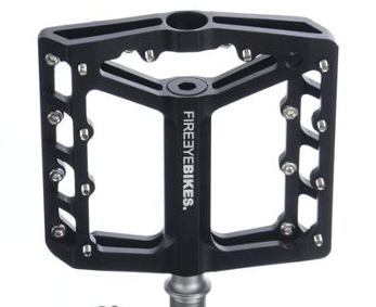 FIREEYE BROIL PEDAL CROMOLY AXLE BLACK - Bike technics