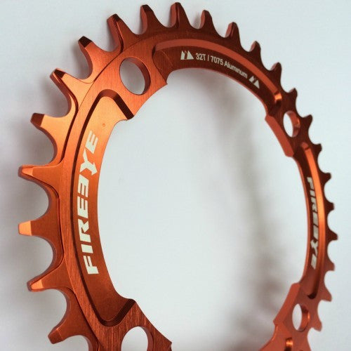FIREEYE FE N-W CHAIN RING 32T ORANGE - Bike technics