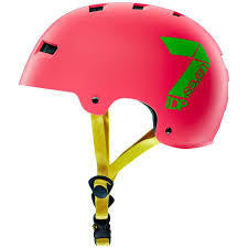 7IDP M3 DIRT LID NEON PINK/ LIME S/M - Bike technics