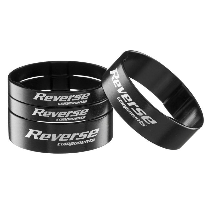 Reverse Headset Spacer Set Aluminium BLACK