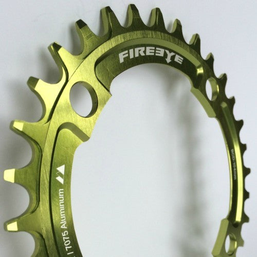 FIREEYE FE N-W CHAIN RING 32T GREEN - Bike technics