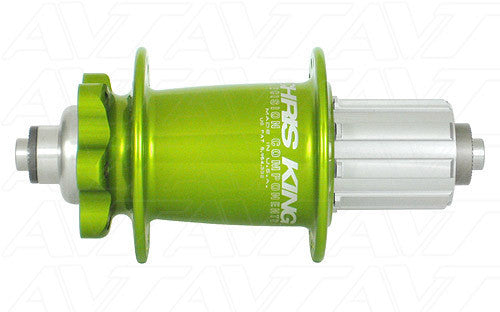 CHRIS KING FA1068R 150X12MM AL SOUR APPLE - Bike technics