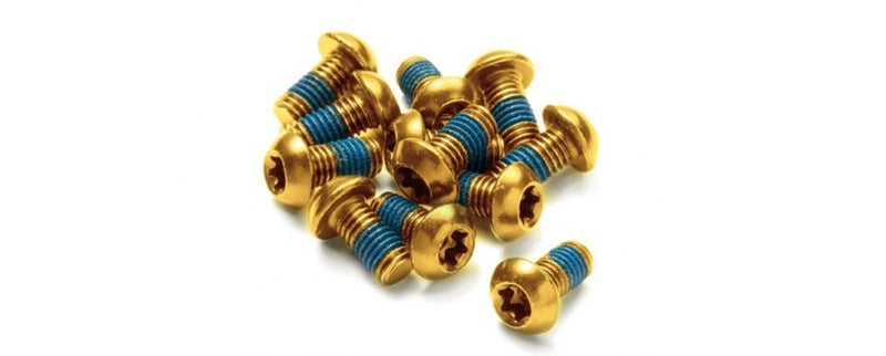 REVERSE DISC ROTOR BOLT SET 12PCS SET GOLD