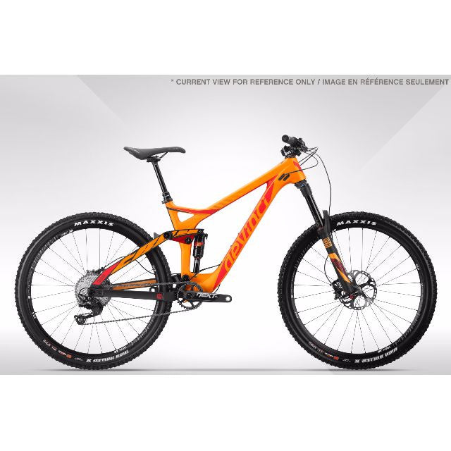 DEVINCI ALL-MOUNTAIN MOUNTAIN BIKE (MTB) - TROY CARBON GX - Bike technics