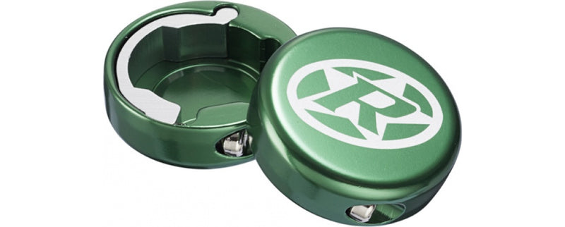 Reverse Grip End-Cap Lock-On DARK GREEN